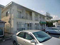 岡山県倉敷市二子丁目なしの賃貸アパートの外観