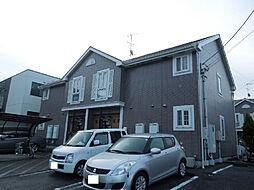 愛媛県松山市溝辺町の賃貸アパートの外観