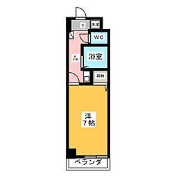 シェルポート21[1階]の間取り