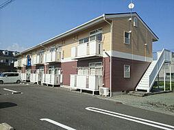 神奈川県小田原市飯田岡の賃貸アパートの外観