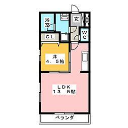Lobelia[2階]の間取り
