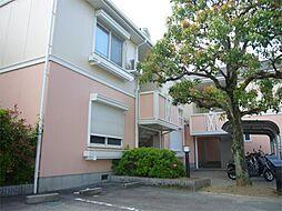 大阪府高槻市古曽部町2丁目の賃貸アパートの外観