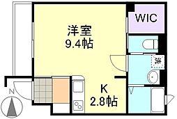 Aju・・アージュ[1階]の間取り