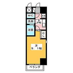 スペース デュークF[7階]の間取り