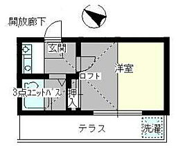 吉野原駅 3.2万円