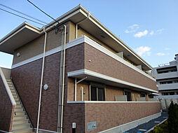 大阪府豊中市若竹町1丁目の賃貸アパートの外観