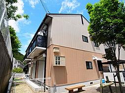 兵庫県神戸市北区甲栄台3丁目の賃貸アパートの外観