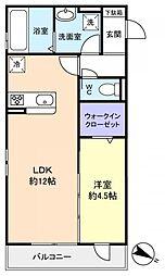 コミチノカーサ[2階]の間取り