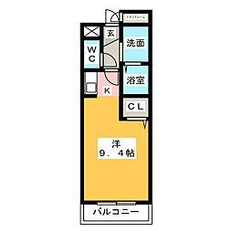 マンション・マーレ[2階]の間取り