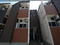HALFLATS(ハルフラッツ)[2階]の外観