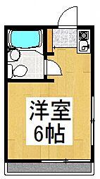 エクセル小川[1階]の間取り