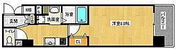 「エイペックス京都西陣」[2階]の間取り