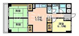 ルモン舞子[6階]の間取り