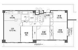 最上階東南角のお部屋ファミール六甲道