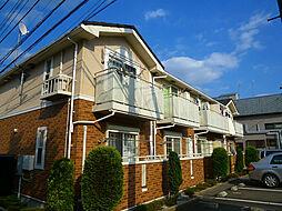 埼玉県ふじみ野市松山1丁目の賃貸アパートの外観