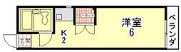 ヒルハイツ一条[12号室]の間取り