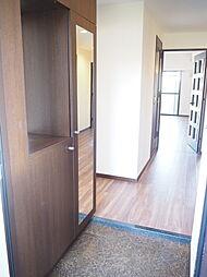 玄関 シューズボックス付の玄関玄関がスッキリとお使いいただけます