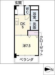 サンシャイン伊藤[4階]の間取り
