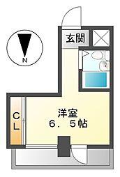 小塩マンション[2階]の間取り
