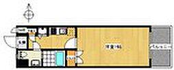 ピュアドーム六本松ローゼ[2階]の間取り