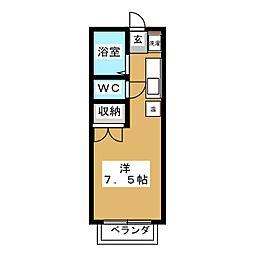 鷹二ドリーム[2階]の間取り