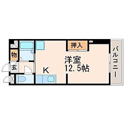 サンイースト武庫之荘[3階]の間取り