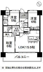 長野県岡谷市本町3丁目の賃貸マンションの間取り