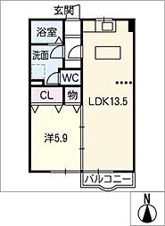 HOUSE 657[2階]の間取り