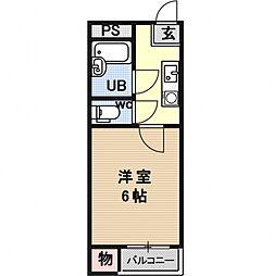 プチメゾンII[105号室号室]の間取り