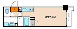 ESCASA京都西陣[410号室]の間取り