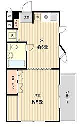 メゾン岩崎[0304号室]の間取り