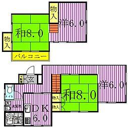 [一戸建] 千葉県我孫子市湖北台10丁目 の賃貸【/】の間取り