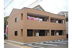 愛知県岡崎市大西2丁目の賃貸アパートの外観