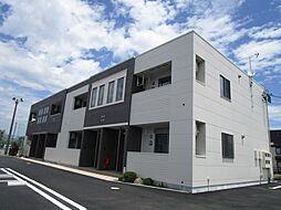 静岡県藤枝市築地の賃貸マンションの外観