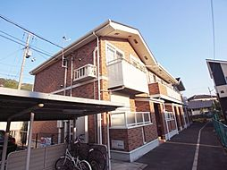 大阪府大東市錦町の賃貸アパートの外観