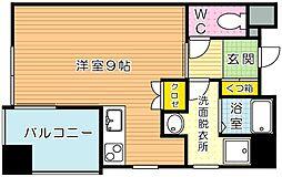 アベニュー小倉WEST[2階]の間取り