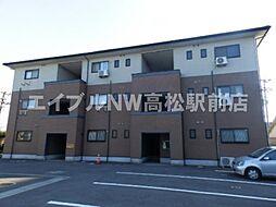 香川県高松市花ノ宮町2丁目の賃貸マンションの外観