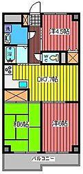 プレステージマンション191[1階]の間取り