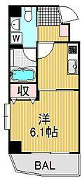 メゾンクラッソ[3階]の間取り