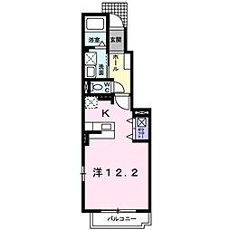 エクセルハウス下関[1階]の間取り