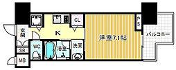 エイペックス梅田東2[3階]の間取り