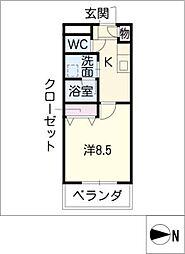 セピアコート3[3階]の間取り