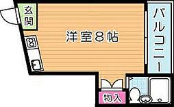 ACハイム小倉II[2階]の間取り