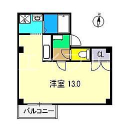 HAMAビル[5階]の間取り