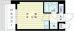 神奈川県藤沢市南藤沢の賃貸マンションの間取り