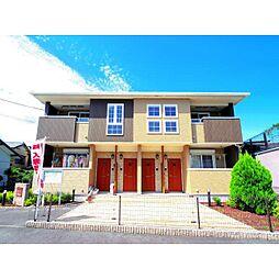 静岡県藤枝市田中の賃貸アパートの外観