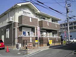 大阪府豊中市桜の町7丁目の賃貸アパートの外観
