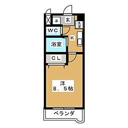 ヴィラユーザン88[2階]の間取り