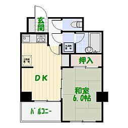 ライオンズマンション亀有第3[0205号室]の間取り