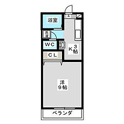 クレッシェンド[2階]の間取り